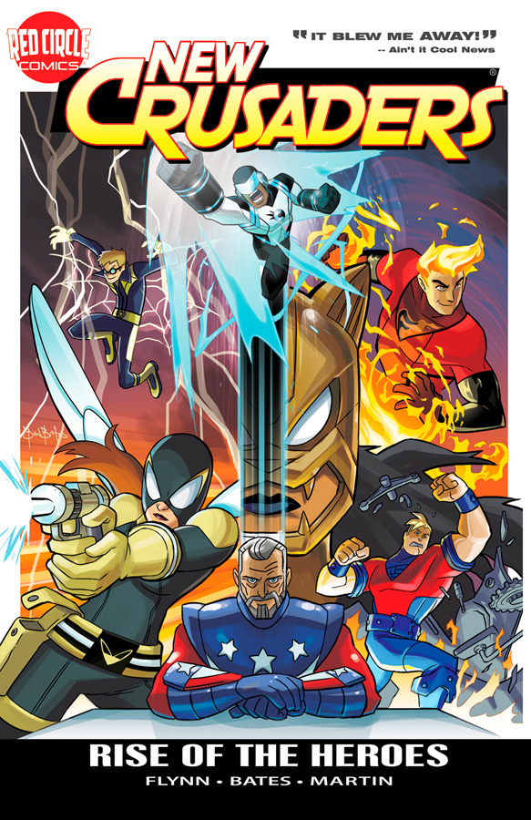 newcrusaders ARCHIE COMICS Solicitations for MARCH 2013