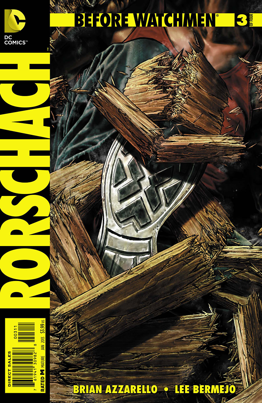 prv14545 cov Before Watchmen: Rorschach #3 Review