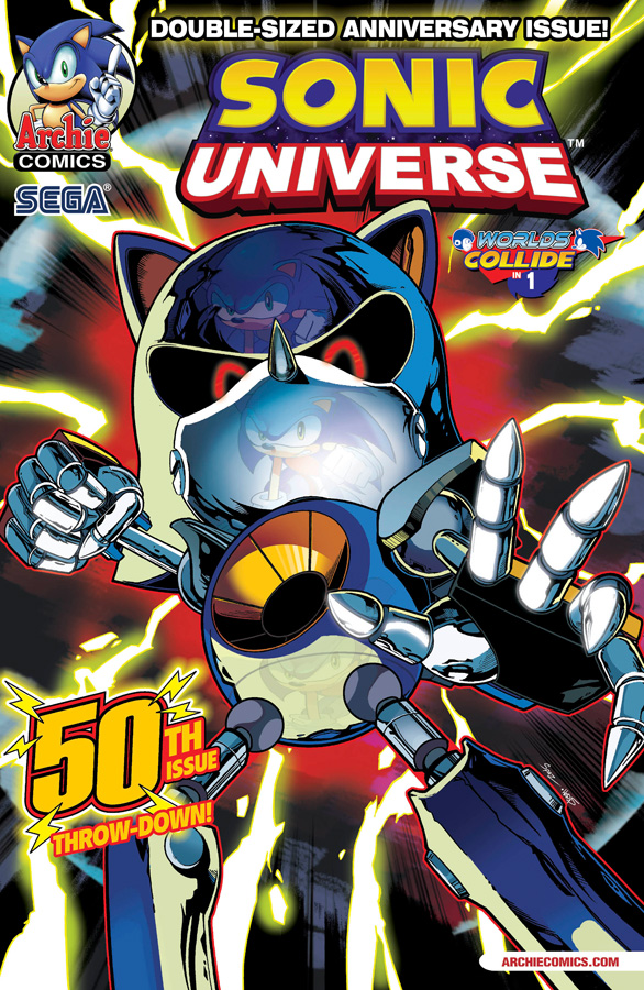 sonicuniverse50 ARCHIE COMICS Solicitations for MARCH 2013