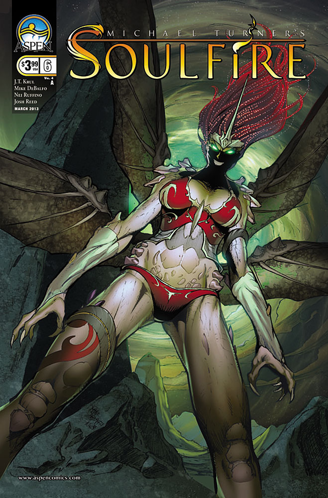 soulfire6a ASPEN COMICS Solicitations for MARCH 2013