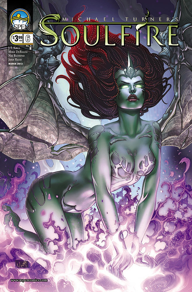 soulfire6b ASPEN COMICS Solicitations for MARCH 2013