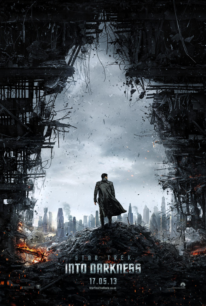 star trek into darkness poster 692x1024 First Teaser Poster For STAR TREK INTO DARKNESS Online