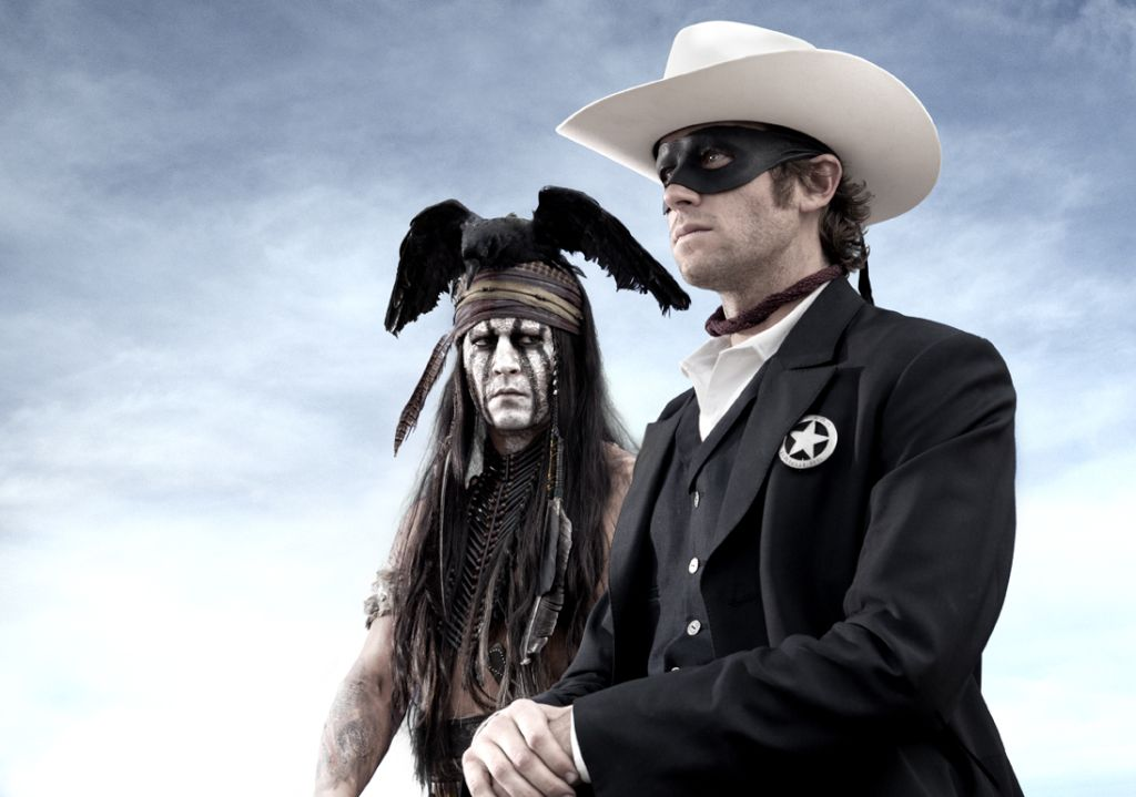 the lone ranger johnny depp armie hammer The LONE RANGER Trailer Isnt Bad but Doesnt Capture the Right Feeling
