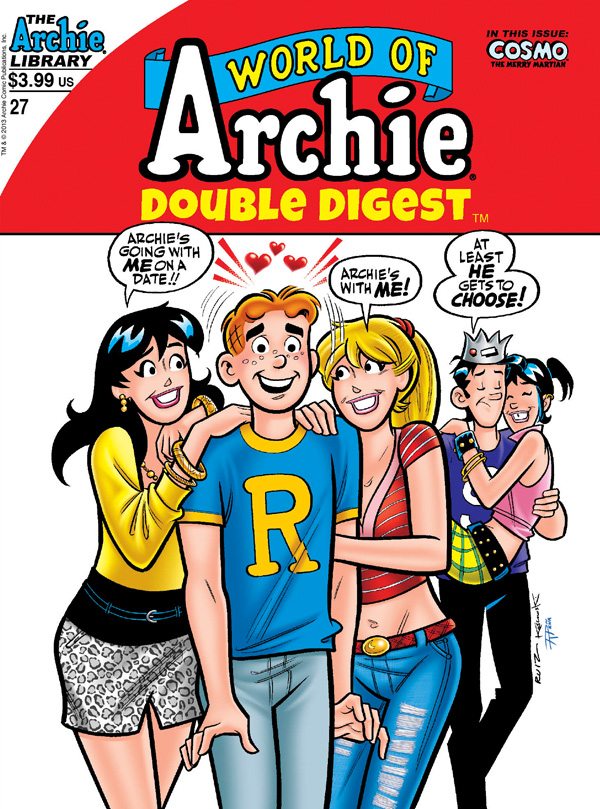 worldofarchie27 ARCHIE COMICS Solicitations for MARCH 2013