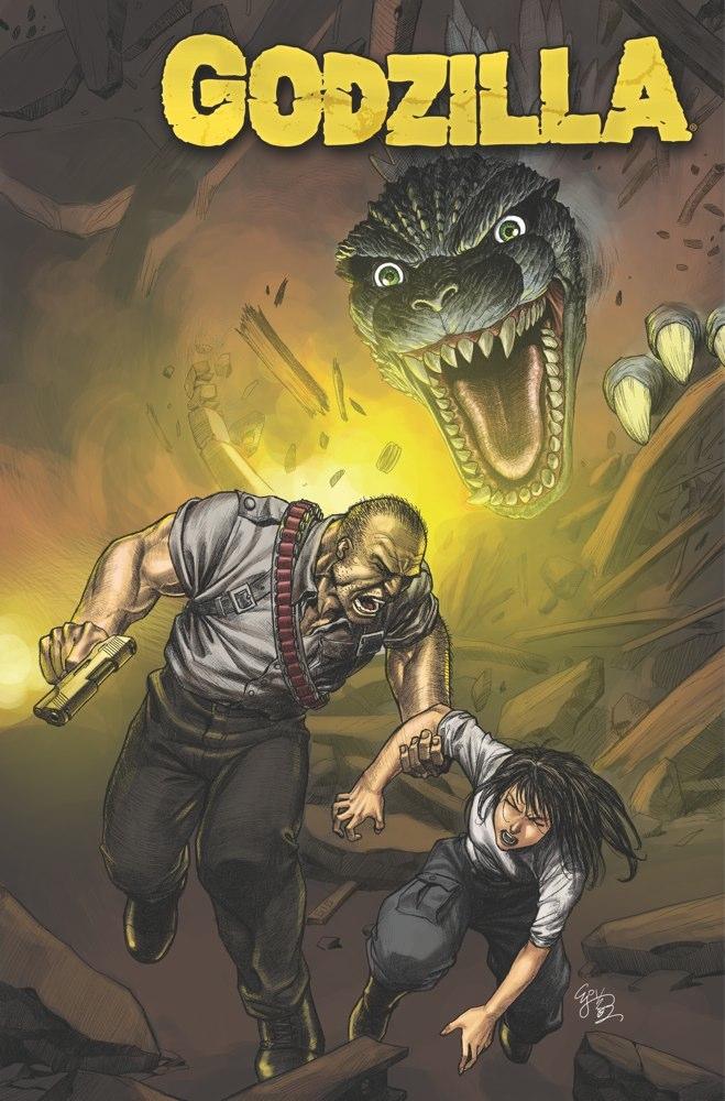 GODZILLA ONGO 08 CovA Weekly Comic Reviews 1/9