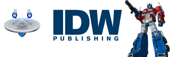IDW Publishing Banner Weekly Comic Reviews 1/2