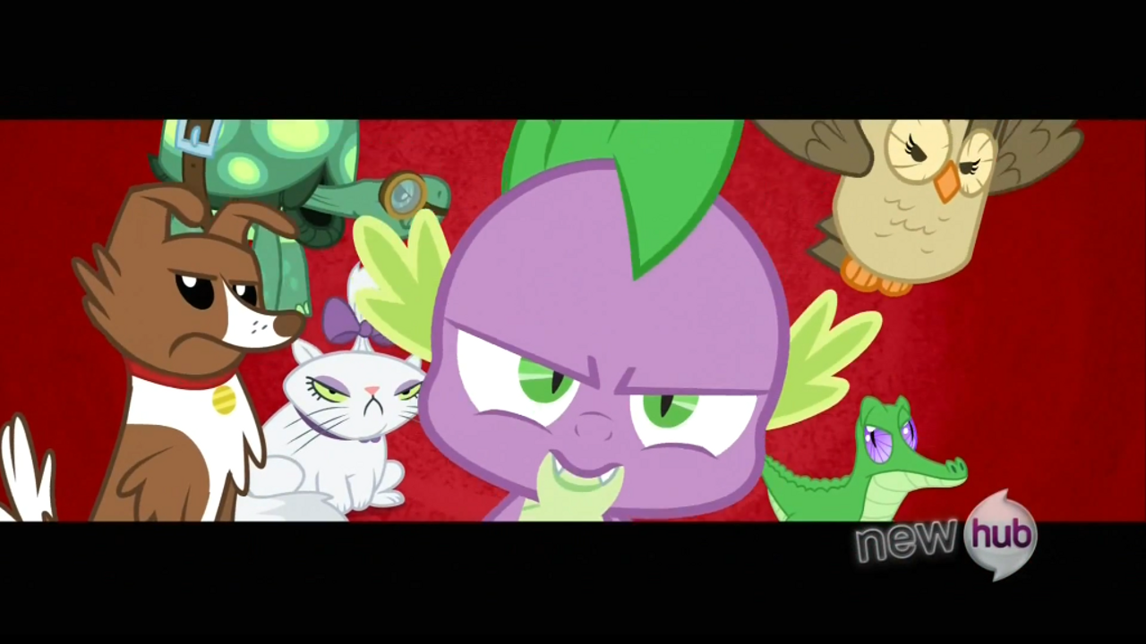 Spike and the pets S3E11 My Little Pony: Friendship is Magic Just for Sidekicks Review