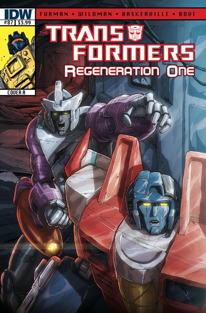 TF REGEN 87 CVR A Weekly Comic Reviews 1/9