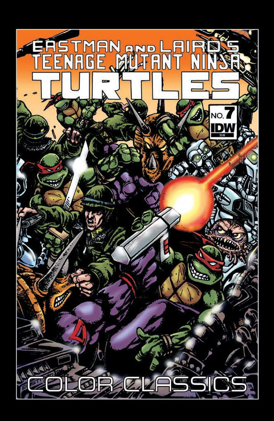 Teenage Mutant Ninja Turtles Color Classics 7 C Weekly Comic Reviews 1/9