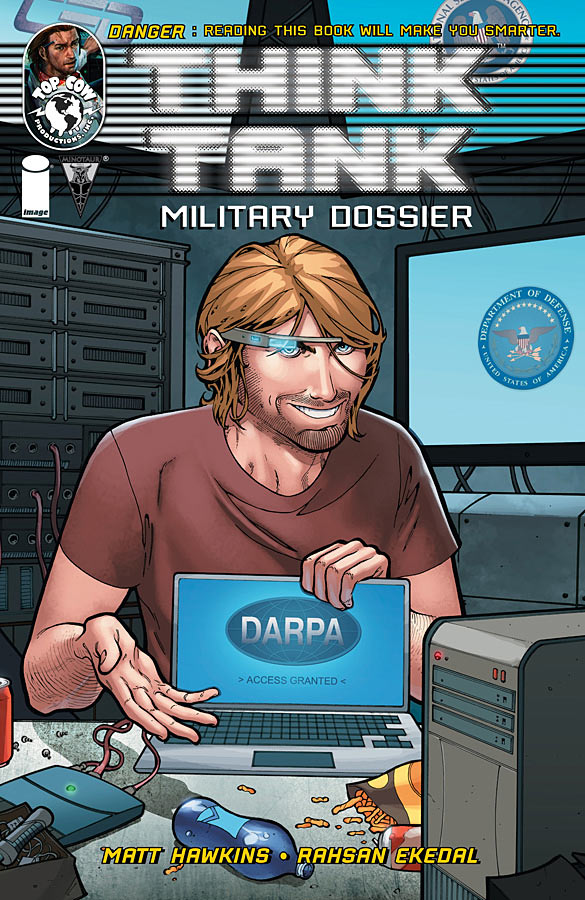 Think Tank Military Dossier 1 C Weekly Comic Reviews 1/9