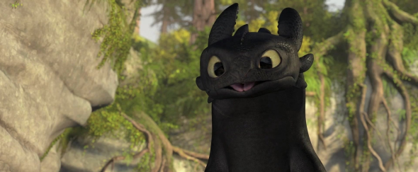 Toothless How to Train Your Dragon 590x243 Top 5 Dragons In Movies