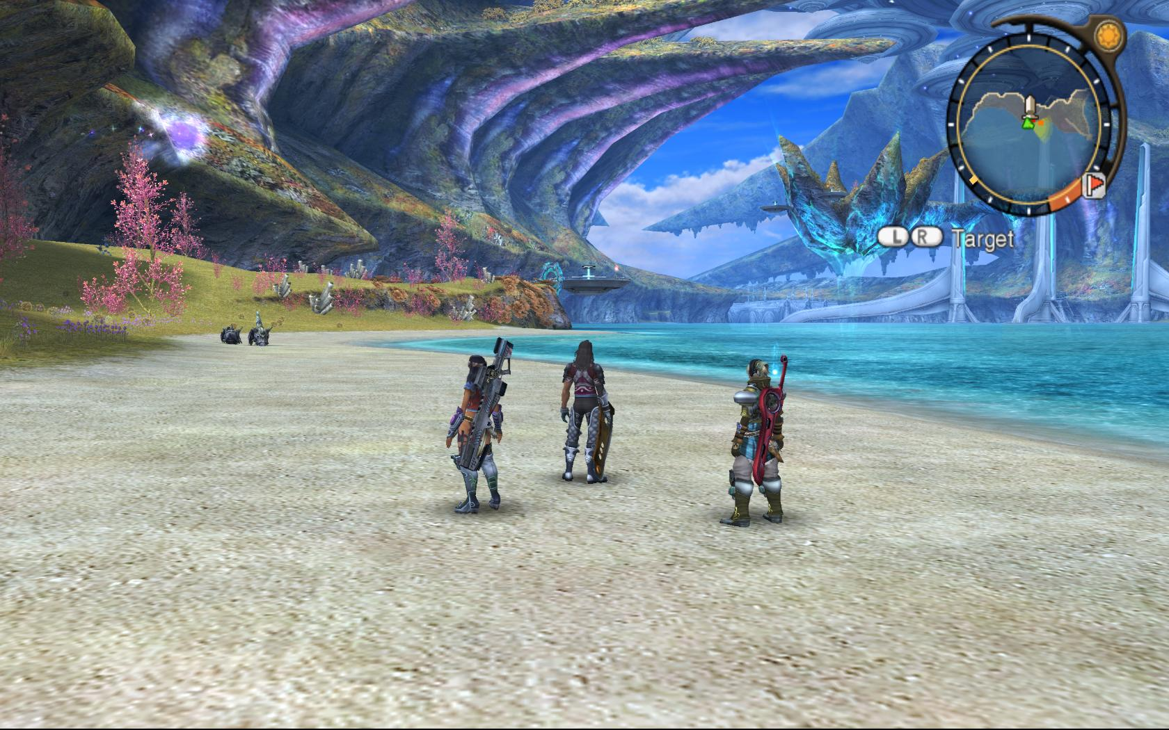 Xenoblade Chronicles Eyrth Sea Screenshot Is The XENOBLADE CHRONICLES Sequel Exactly What WiiU Needs?