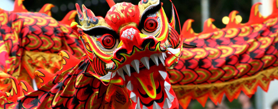 chinese dragon banner Top 5 Dragons In Movies