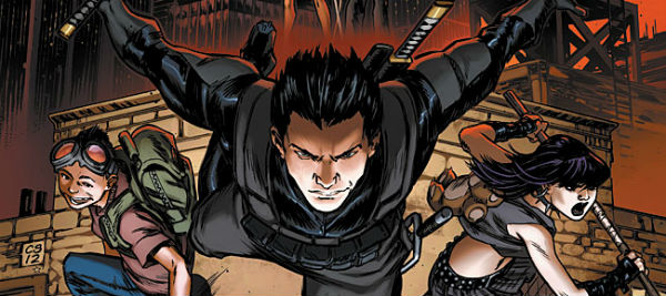 legend of the shadow clan banner EXCLUSIVE: Interview with Witchblade Co Creator David Wohl