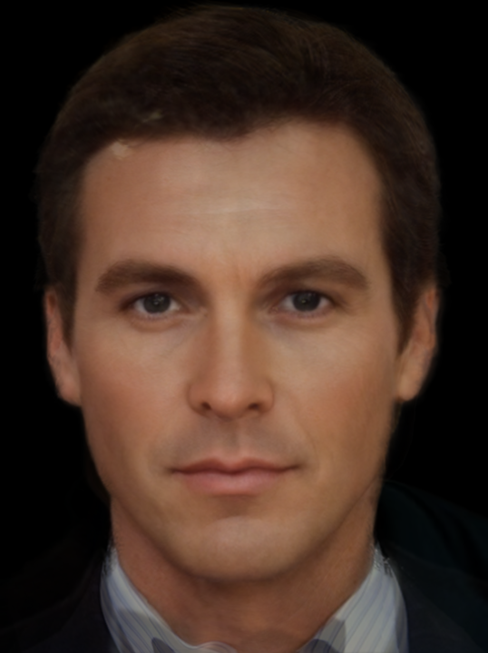 perfect bruce wayne Amazing Face Morphs of James Bond, Spider Man, Superman, and More