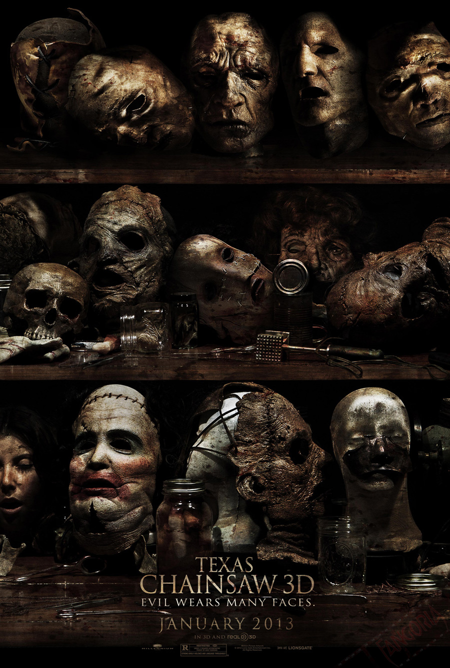 texas chainsaw 3d poster Texas Chainsaw 3D to Get Sequel?