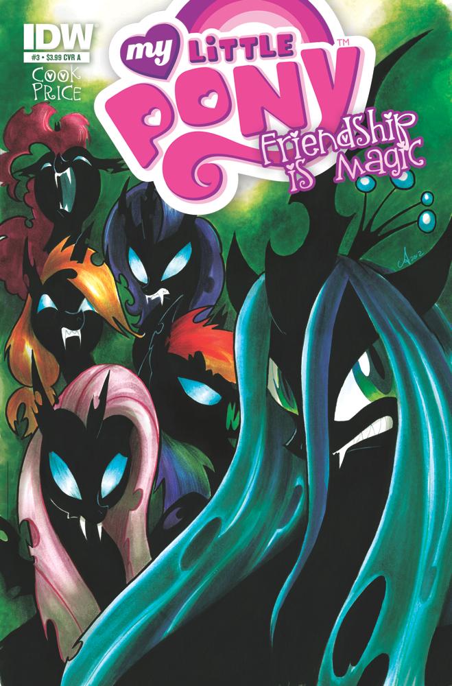 MyLittlePony03 cvrA My Little Pony: Friendship is Magic #3 Review