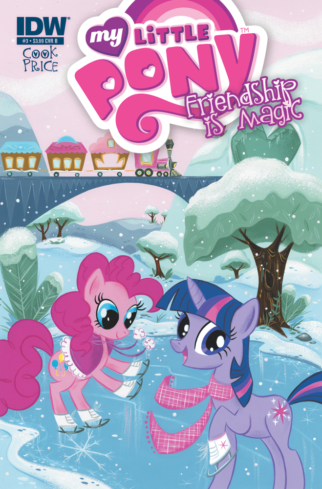 MyLittlePony03 cvrB My Little Pony: Friendship is Magic #3 Review