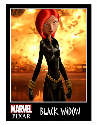 black widow pixar