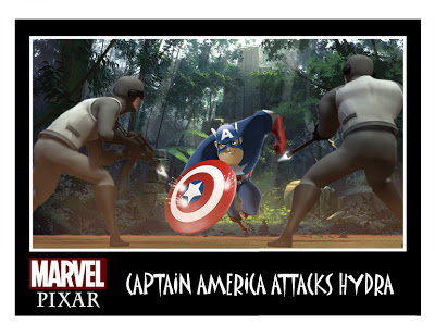 Marvels THE AVENGERS Pixar  ized