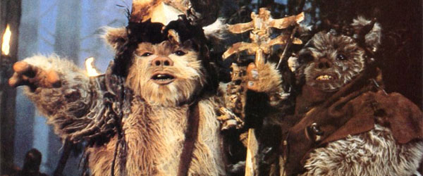Im Convinced The EWOKS Ate Dead Stormtroopers During the BBQ In RETURN OF THE JEDI
