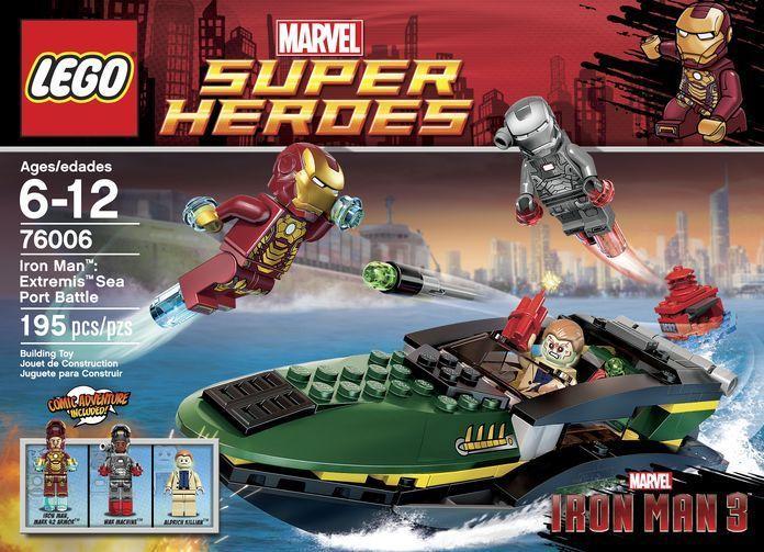 LEGO Toys Spoil IRON MAN 3