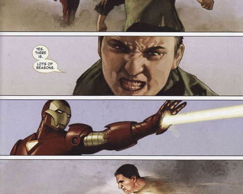 I love RDJ, but Iron Man is so much cooler in comics