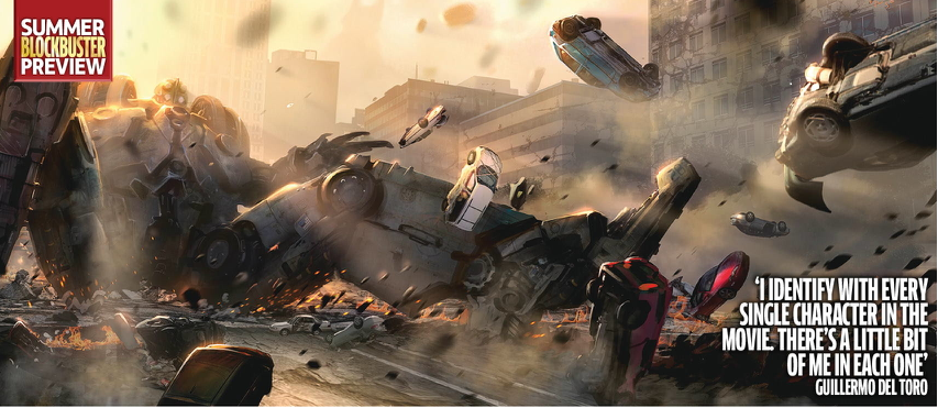 jaeger battle concept art pacific rim How the Hell did PACIFIC RIM Bomb At The Box Office?