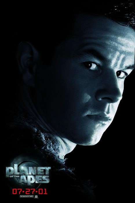 planet of the apes poster 466x700 Mark Wahlberg Sheepishly Says He Wants A Role in STAR WARS : EPISODE 7