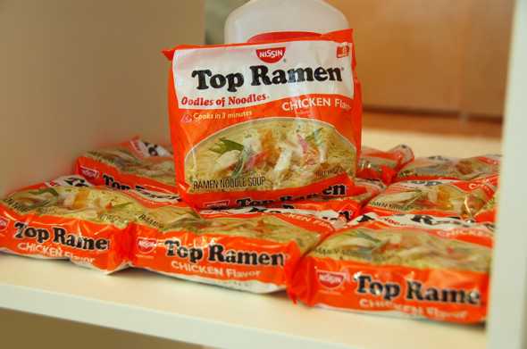 ramen poor geek 590x391 6 Things That Dont Suck About Missing SAN DIEGO COMIC CON