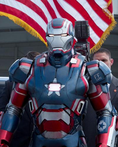 Iron Man 3 Suit Patriot Iron Man 3 Iron Patriot Armor