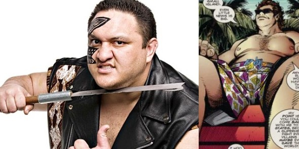 Samoa Joe 590x295 TOP 5 Wrestlers Who Would Make Way Better COMIC CHARACTERS Than Batista!