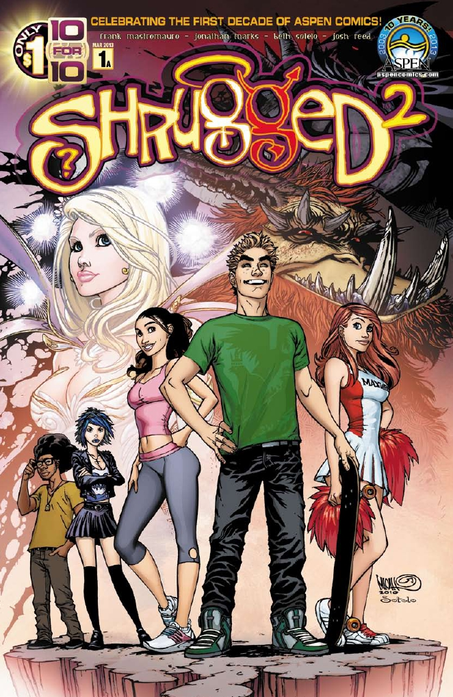 Shrugged vol.2 1 C Shrugged (vol.2) #1 Review