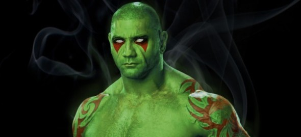 batista drax the destroyer 590x269 TOP 5 Wrestlers Who Would Make Way Better COMIC CHARACTERS Than Batista!
