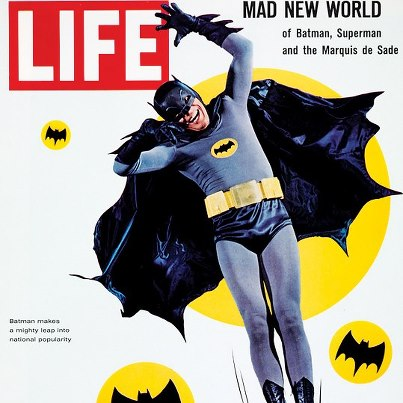 batman life cover Holy Awesomeness, BATMAN! DC Launches Comic Based on 60s Show