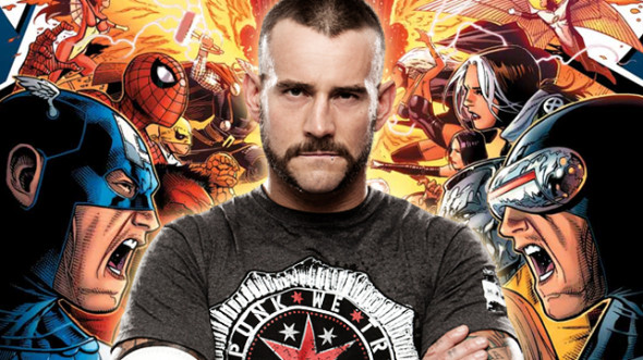 cm punk marvel 590x331 TOP 5 Wrestlers Who Would Make Way Better COMIC CHARACTERS Than Batista!