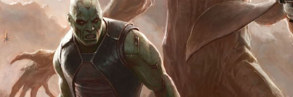 drax the destroyer guardians of the galaxy banner slice Is GUARDIANS OF THE GALAXY Ripping Off STAR WARS?  Director James Gunn Settles It!