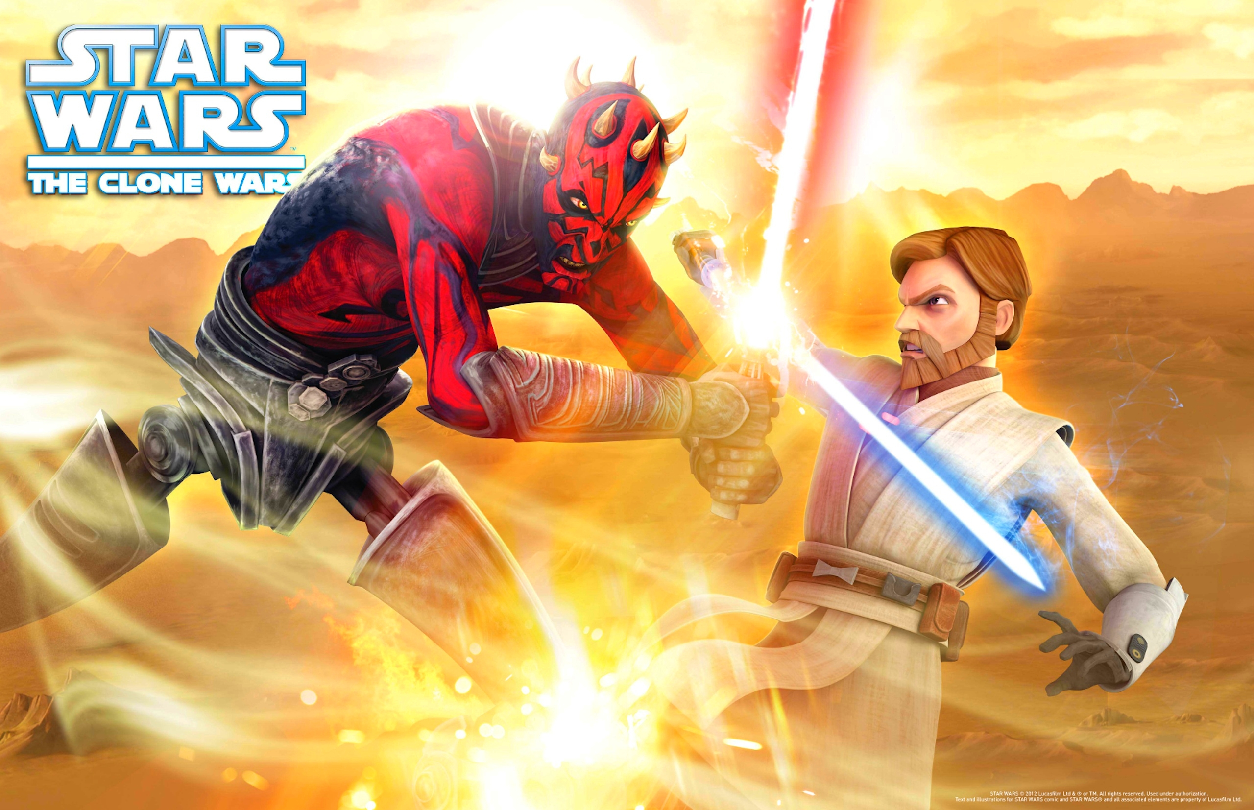 obi wan vs darth maul CLONE WARS Cancelled in Favor of New STAR WARS Show... And We Cant Even Blame George Lucas