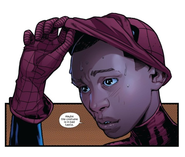 spidey 590x501 We Have The Power To Change MARVEL and DC Comics: Support Diversity, Support Miles!