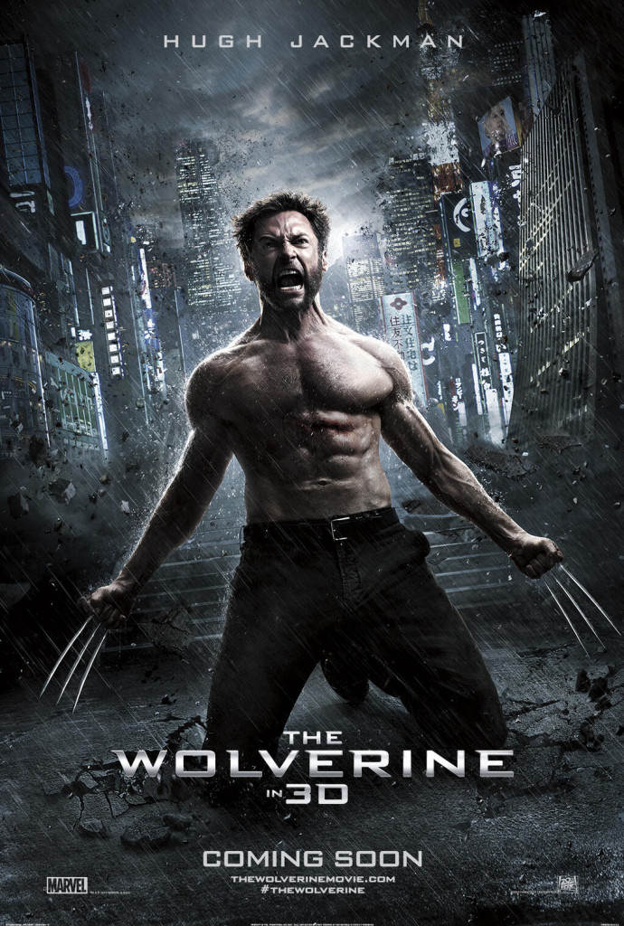 the wolverine poster1 690x1024 CinemaCon Trailer For THE WOLVERINE Online; Lots Of New Footage