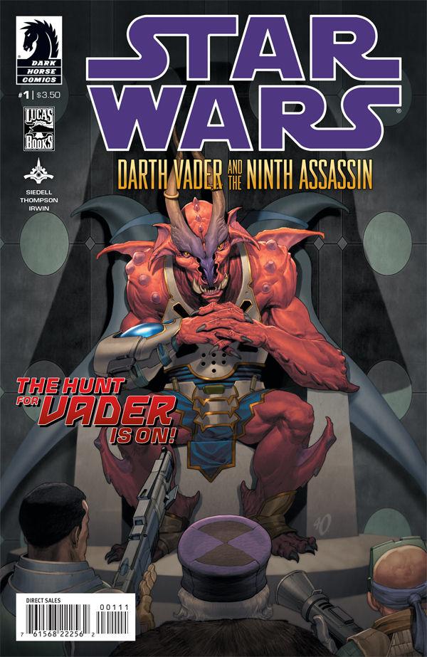 Star Wars Darth Vader and the Ninth Assassin 1 C Star Wars: Darth Vader and the Ninth Assassin #1 Review