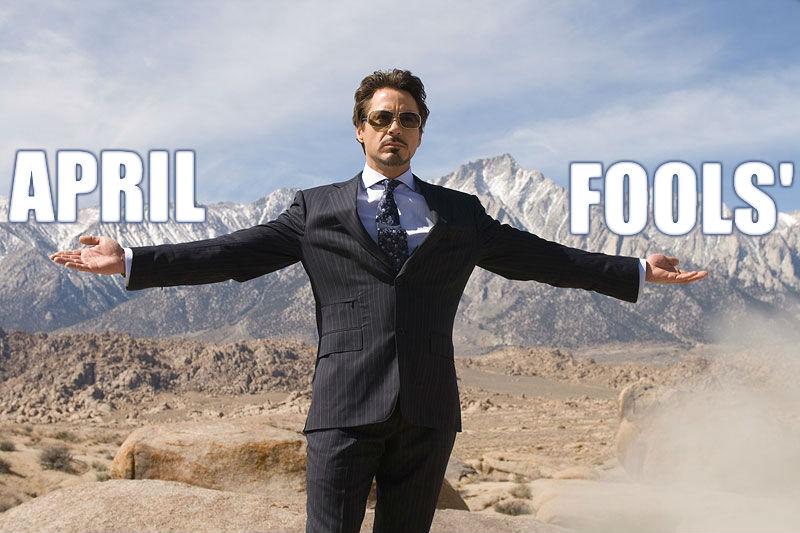 april fools tony stark Robert Downey Jr. Abandons AVENGERS 2, Marvel Names Replacement