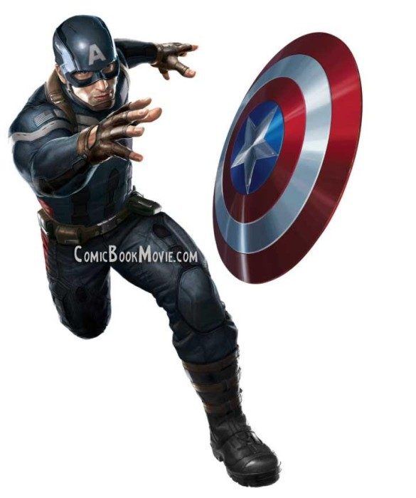 New Suit for CAPTAIN AMERICA: THE WINTER SOLDIER Doesnt Suck!