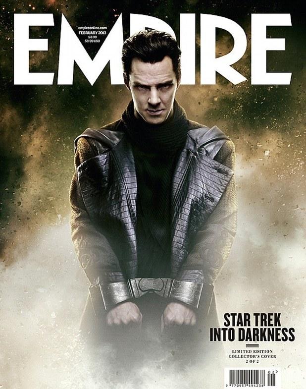 Confirmed... Again... Benedict Cumberbatch Is KHAN In STAR TREK INTO DARKNESS!
