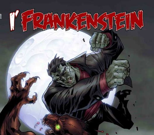 i frankenstein comic book cover I, FRANKENSTEIN Lumbers Into Theaters January 2014