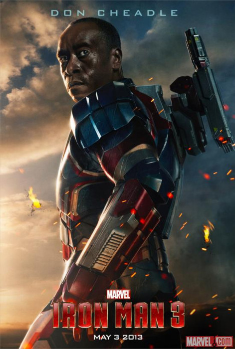 IRON PATRIOT Might Pop Up In CAPTAIN AMERICA : THE WINTER SOLDIER and AVENGERS 2