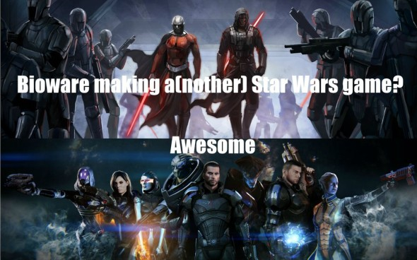 EA Bioware Star Wars 590x368 Fear not Fanboys! EA Getting STAR WARS License Is A Good Thing