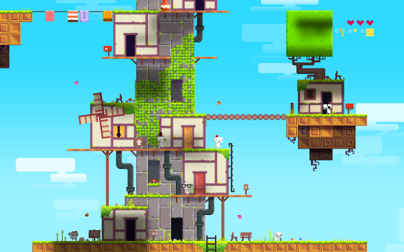 FEZ 4 590x368 Top 6 Indie Games We Want To See On VITA