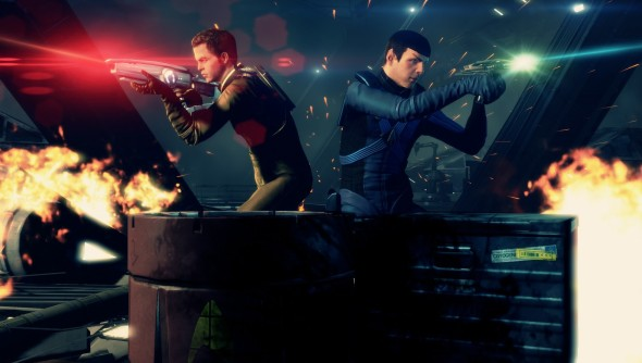 Star Trek the game 590x334 Fear not Fanboys! EA Getting STAR WARS License Is A Good Thing