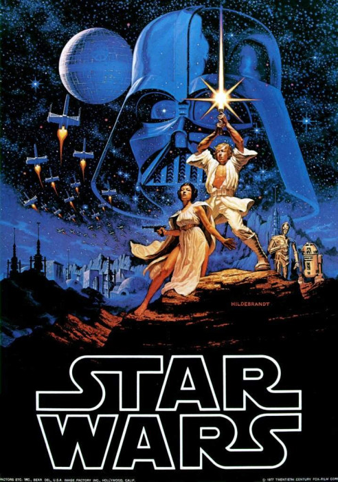 Star Wars IV Poster 492x700 Fear not Fanboys! EA Getting STAR WARS License Is A Good Thing